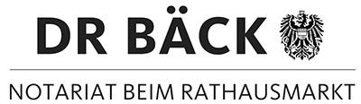 Notariat Dr. Bäck Logo